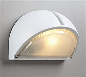 PLC Lighting 1844 WH Outdoor Fixture, Claret Collection, White finish