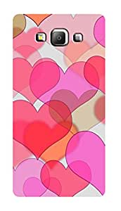 SWAG my CASE PRINTED BACK COVER FOR SAMSUNG GALAXY A7 Multicolor
