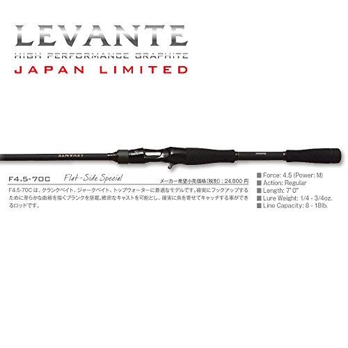 メガバス LEVANTE JAPAN LTD F4.5-70C