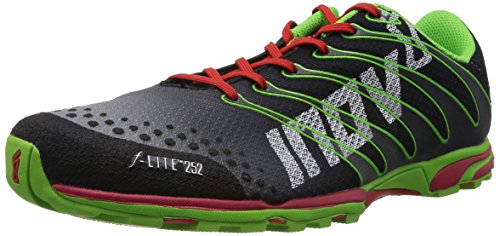 Inov-8 F-lite 252 Shoe,Black/Red/Green,6.5 M US