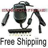 Convertisseur Adaptateur DC Allume-cigare pour PC Portable / Chargeur