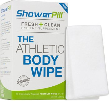 ShowerPill Athletic Body Wipes at Amazon.com