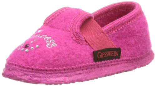 Giesswein Taucha Slippers Girls Pink Pink (himbeer 364) Size: 12.5 (31 EU)