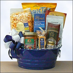 Savory Party Tub Father's Day Gift Basket