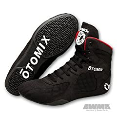 Buy Otomix Stingray Boot (Black Red) - Size14 by Asian World Martial Arts