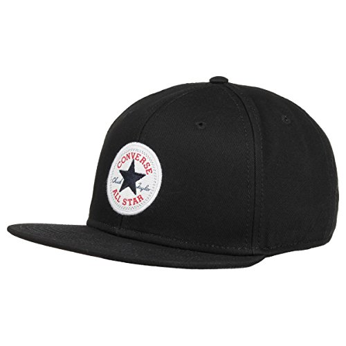 133720 - SNAPBACK TWILL BLK PLU 107A Colour: BLACK / Size: ONE SIZE /