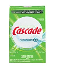 Cascade 34034 Fresh Scent Automatic Dishwasher Detergent, 45 Ounces (Case of 12)