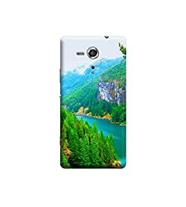 TransMute Premium Printed Back Case Cover With Full protection For Sony Xperia SP (Designer Case)