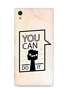 Amez You can Do It! Back Cover For Sony Xperia Z5