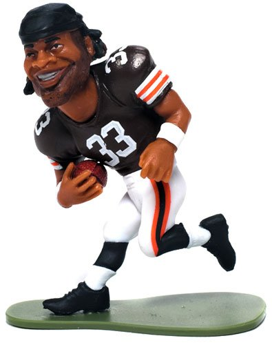 McFarlane Toys NFL Small Pros Series 1 LOOSE Mini Figure Trent Richardson [Cleveland Browns] - 1