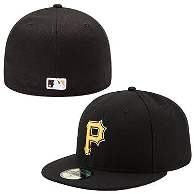 New Era 59FIFTY Pittsburg Pirates Team Alternate Baseball Hat Black
