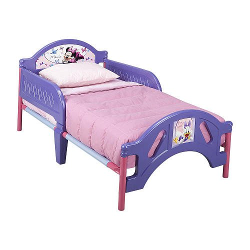 Disney Minnie Mouse Toddler Bed front-201137