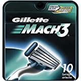 Mach3 Refill Cartridge Blades for Mach 3, 10 Count