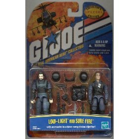 Gi Joe Low Light & Sure Fire Special Collector's Edition 2 Pack