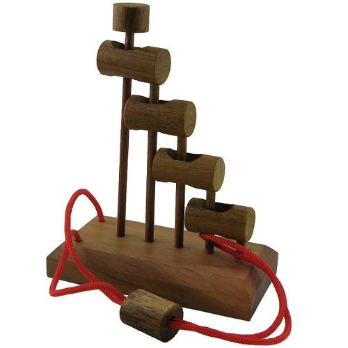 41aw3Cdf35L Reviews Jacobs Ladder String Brain Teaser wooden Puzzle