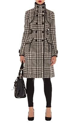 Statement Check Coat