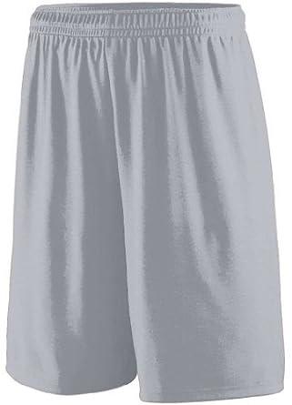 Buy Augusta Sportswear Training Short - SILVER GREY - S by Augusta