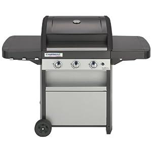 Campingaz 2000015635 Barbecue à Gaz Acier Double Emaillage Gris/Noir 143,8 x 64,2 x 110,6 cm