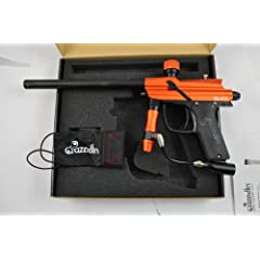 Buy Azodin 2011 Blitz Electronic Paintball Gun - Orange Black by Azodin