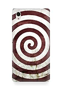 Amez designer printed 3d premium high quality back case cover for Sony Xperia M4 (Abstract Colorful 25)