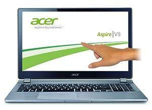 Acer Aspire V5-573PG-54208G50AII 39,6 cm (15,6 Zoll) Notebook (Intel Core i5 4200U, 1,6GHz, 8GB RAM, 500GB HDD, NVIDIA GF GT 720M, Touchscreen, Win 8) silber