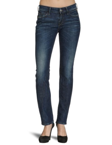 Replay Pearl Straight Women's Jeans Deep Blue Rinsed 32W x 34L