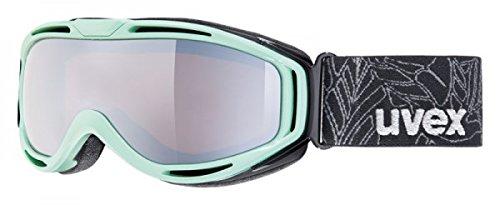 uvex hypersonic, mint/ double lens spheric lite mirror silver, -