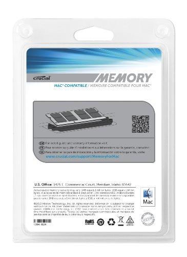 Crucial 8GB Kit (4GB x 2) DDR3-1066 MT/s (PC3-8500) CL7 204-Pin SODIMM Memory Upgrade for MAC CT2K4G3S1067M / CT2C4G3S1067M
