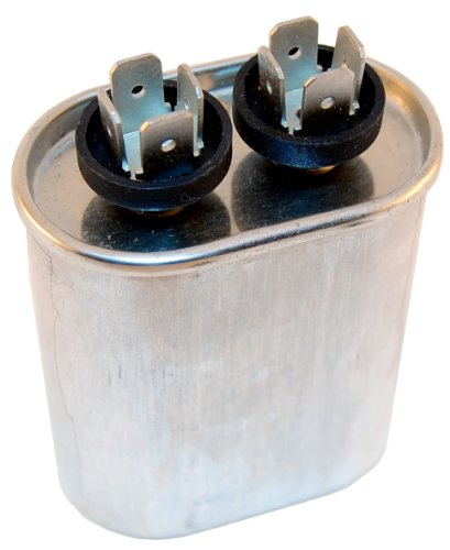 Capacitor Motor Run Ac Metallized 6Uf 440Vac 10% Oval .250 Inch 4 Way Quick Connect Terminals front-609995