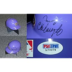 Jerry Colangelo Signed Diamondbacks Mini Helmet PSA COA