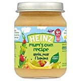 Heinz Mum's Own Recipe Apple, Pear & Banana 4+ Mths 128G
