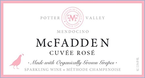 Nv Mcfadden Sparkling Cuvée Brut Rosé Mendocino County 750 Ml