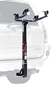 Allen Sports Deluxe 2-Bike Hitch Mount Rack (1-2 Inch Receiver)
