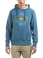 Hot Buttered Sudadera con Capucha Surf Culture (Azul Celeste)