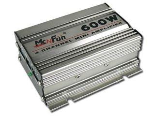 McFun kompakt 4 Kanal 600 WATT Auto/Car/Mobiler