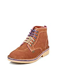 Kickers Mens Brown Legendary Suede Ankle Boots