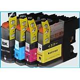チップ付 互換インク ブラザー工業 インクカートリッジ お徳用4色パック LC117/115-4PK 増量タイプ