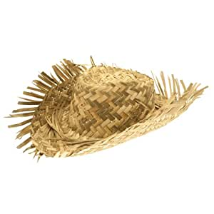 Hat Straw Beachcomber Cheap for Fancy Dress Party Accessory