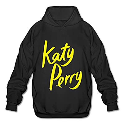 Long-Sleeve Katy Perry Logo Yellow Hoodies For Men Latest Hoodies