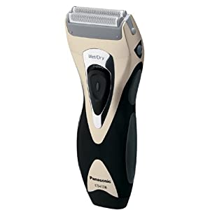 Panasonic ES4026NC Pro Curve Rechargeable Double Blade Wet/Dry Men's Shaver, Blue/Yellow