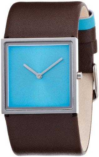 [ランツ]LANTZ レザー腕時計 スカイ・ダイビング アナログ表示 3気圧防水 レザーベルト スカイブルー LA670SKY 【正規輸入品】