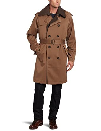Buy Michael Kors Mens Grover Trench Coat