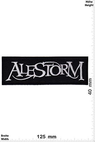 "Patch - Alestorm - Power-Metal-Band - Musica - Alestorm- toppa - applicazione - Ricamato termo-adesivo - Patch"""