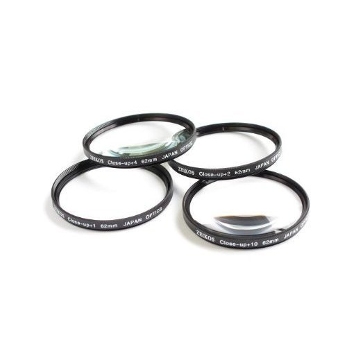 NEEWER® 62mm Macro 4pc Close-Up Lens Set for Nikon Nikkor 70-300mm & All 62mm Camera Lenses