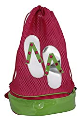Colors'n'bags (Cnb0000022) Girls Handbag -Pink & Green