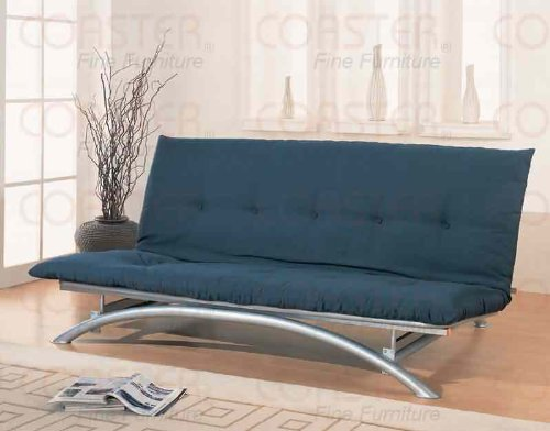Review Of Coaster Metal Futon Frame, Silver Finish