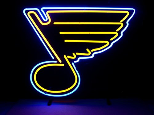 St Louis Blues Neon Light Blues Neon Sign Neon Blues Light