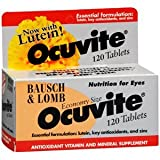 Bausch And Lomb *** Ocuvite Tab 120Tablets