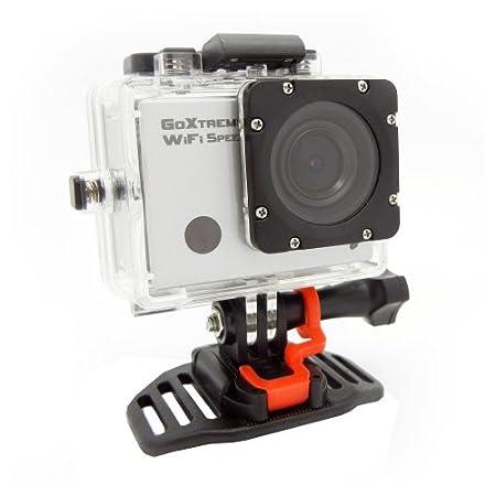 """GoXtreme 20115 wiFi speed-full-hD caméra d'action avec écran 5 cm (2 """")-appareil photo 8 mpx, 1080p, hDMI, uSB 2.0 argenté"""