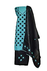 eco haat Hand Crafted vibrant Cotton Patchwork unstitched Salwar Suit Dress Material